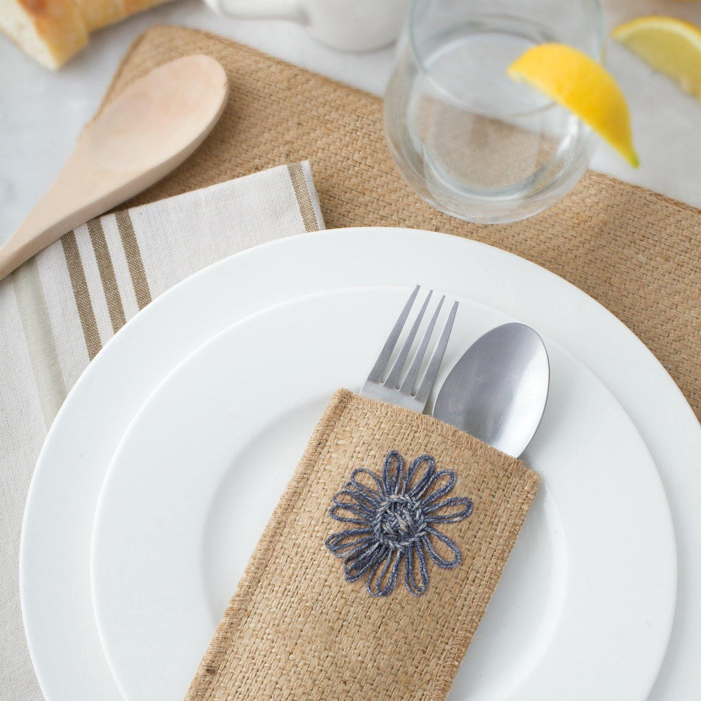 Woven Jute Placemats - The Vintage Home Studio