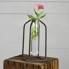 Load image into Gallery viewer, Industrial Test Tube Vase - The Vintage Home Studio