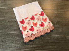 Load image into Gallery viewer, Pretty Hens Crochet Kitchen Bar Mop Towel