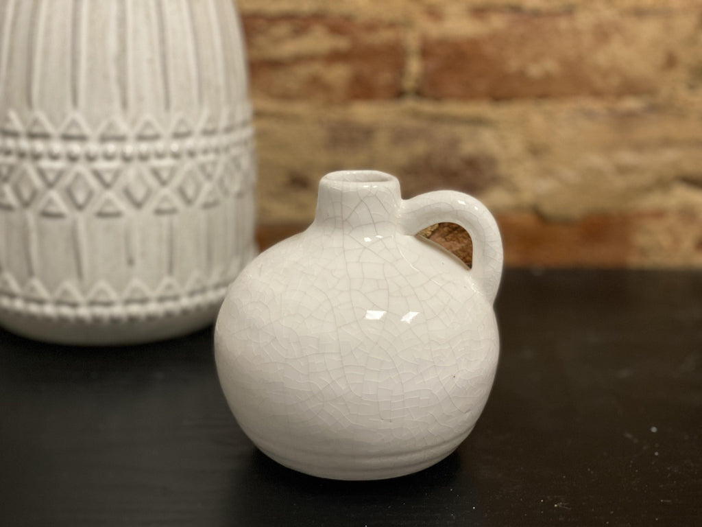 Petite Round Vase - The Vintage Home Studio