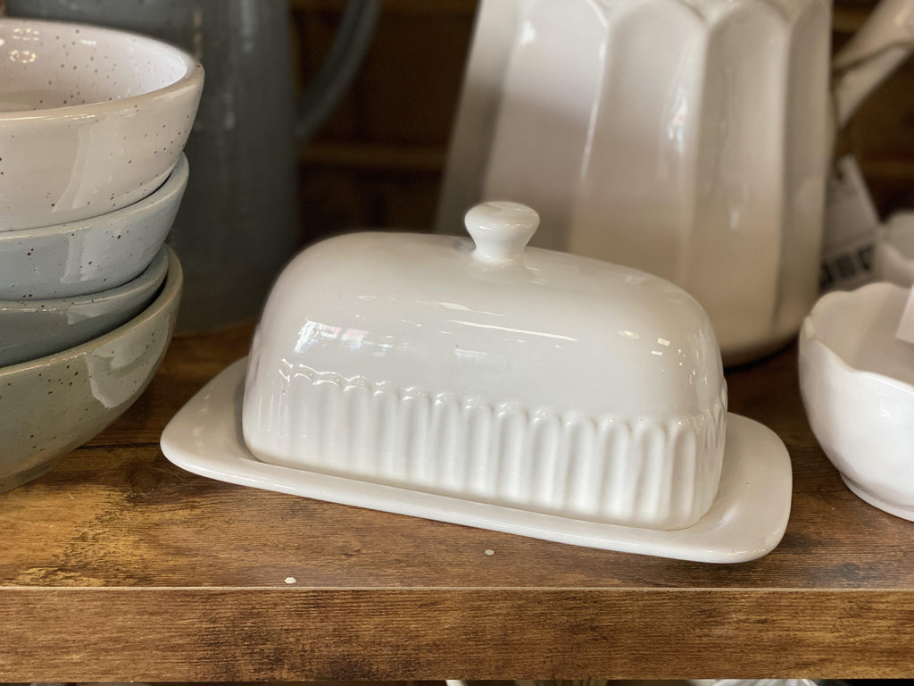 Butter Dish - The Vintage Home Studio