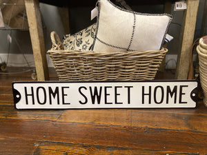 Home Sweet Home Sign - The Vintage Home Studio