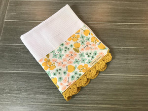 Summer Lovin' Crochet Kitchen Bar Mop Towel
