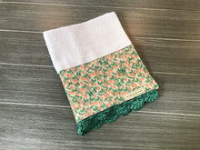 Load image into Gallery viewer, Strawberry Fields Rifle Paper Company Crochet Kitchen Bar Mop Towel
