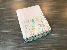 Load image into Gallery viewer, Gone Sailing Crochet Kitchen Bar Mop Towel - The Vintage Home Studio