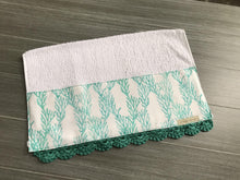 Load image into Gallery viewer, Sea Reef Crochet Kitchen Bar Mop Towel