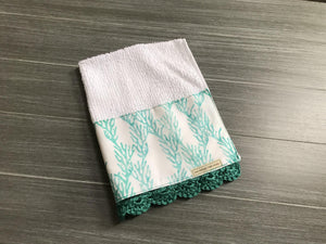 Sea Reef Crochet Kitchen Bar Mop Towel