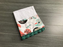 Load image into Gallery viewer, Sea Shells Crochet Kitchen Bar Mop Towel