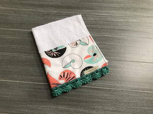 Sea Shells Crochet Kitchen Bar Mop Towel