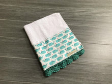 Load image into Gallery viewer, Whale Done Crochet Kitchen Bar Mop Towel