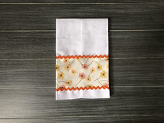 White Linen Guest Towels