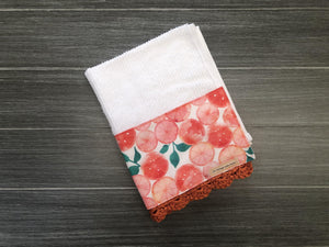 Sweet Clementine Crochet Kitchen Bar Mop Towel