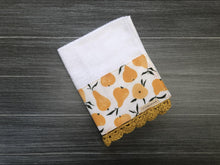 Load image into Gallery viewer, Market Pears Crochet Kitchen Bar Mop Towel