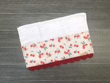 Load image into Gallery viewer, Cherry Pickin' Crochet Kitchen Bar Mop Towel