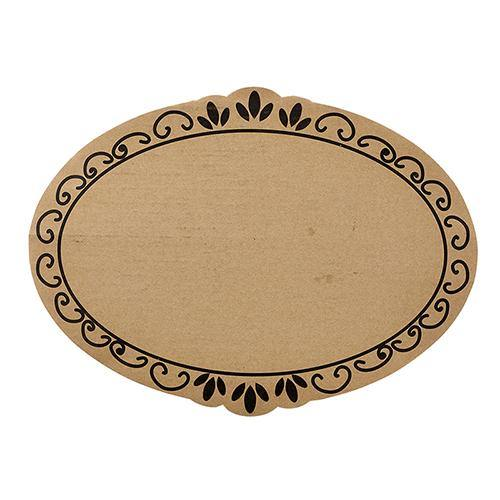 Ornate Cardboard Serving Tray