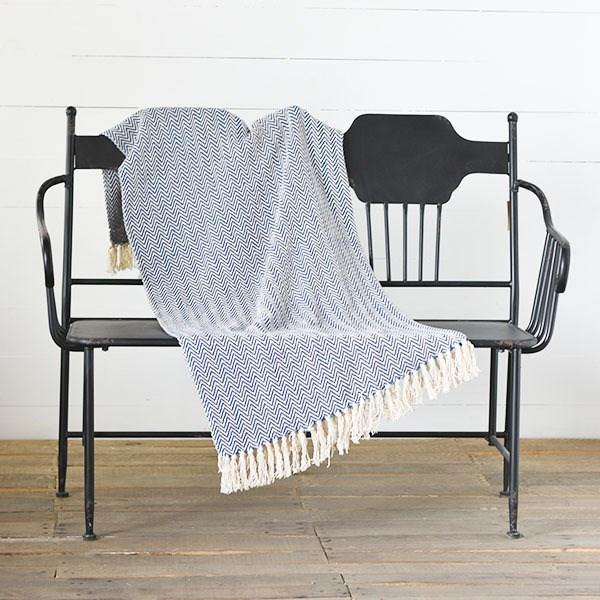 Striped Throws - The Vintage Home Studio