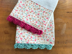 Jolie Fresh Crochet Kitchen Bar Mop Towel