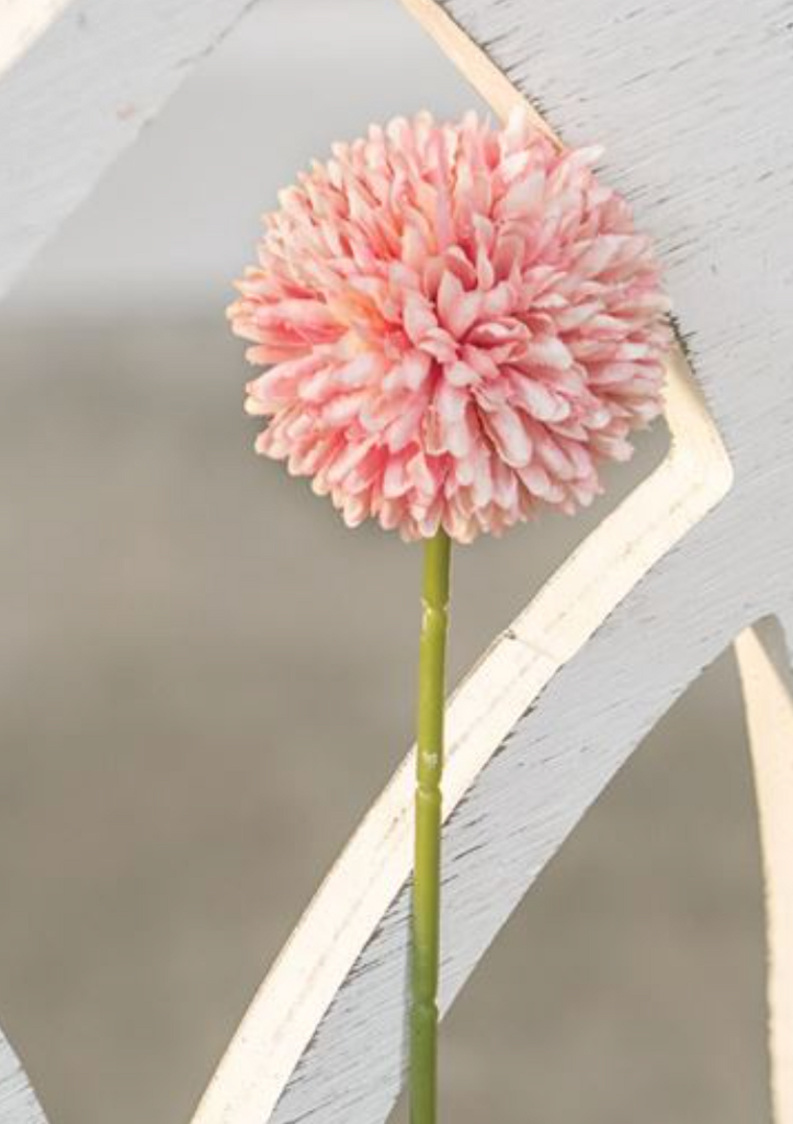 Blush Pompom Stems - The Vintage Home Studio