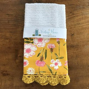 RETIRING Perennial Crochet Kitchen Bar Mop Towel
