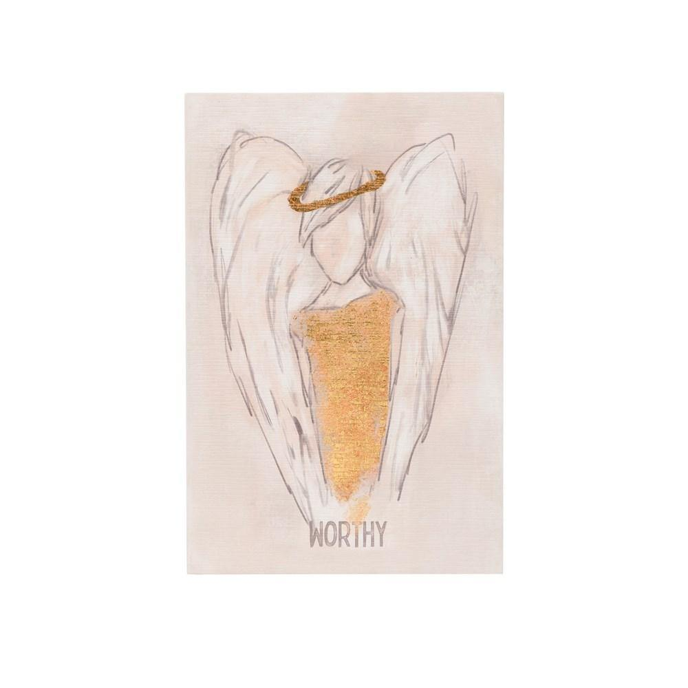 Worthy Angel Wall Art - The Vintage Home Studio