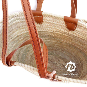Double Handle Woven Tote