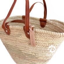 Load image into Gallery viewer, Double Handle Woven Tote