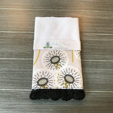 Load image into Gallery viewer, Dandelion Crochet Kitchen Bar Mop Towel - The Vintage Home Studio