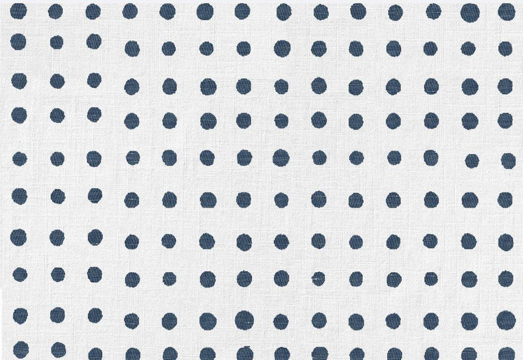 Denim Polka Dot Place Mats