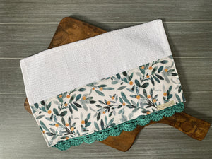 Seeded Eucalyptus Crochet Kitchen Bar Mop Towel