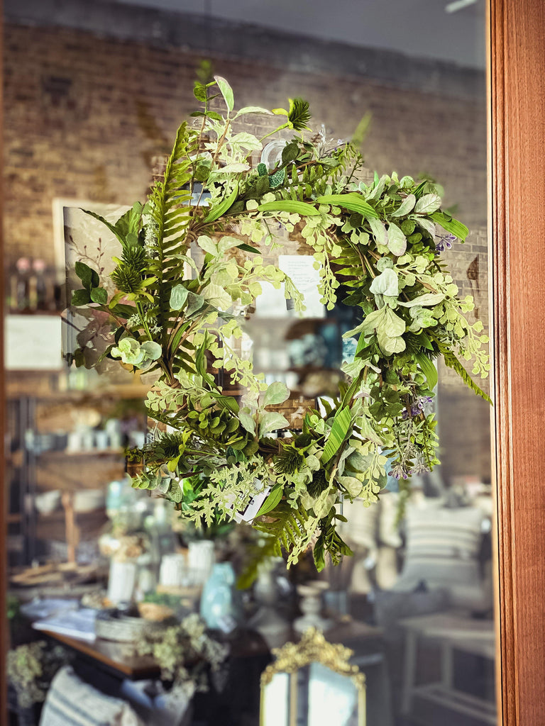 The Perfect Wreath - The Vintage Home Studio
