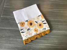 Load image into Gallery viewer, Sunflower Meadows Crochet Kitchen Bar Mop Towel