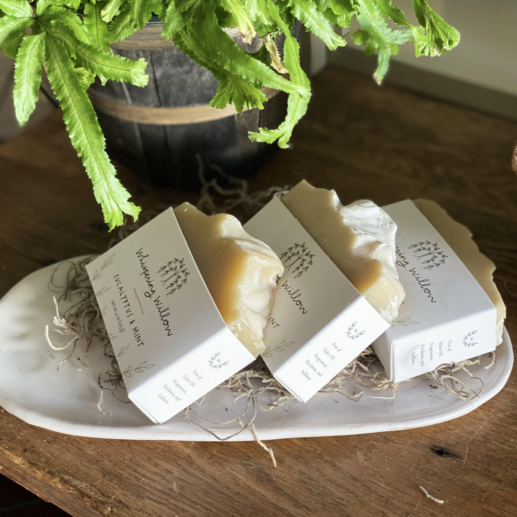 Handcrafted Soaps from Whispering Willow - The Vintage Home Studio