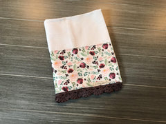 Wild at Heart Floral Crochet Kitchen Bar Mop Towel