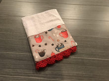 Load image into Gallery viewer, Hot Cocoa Crochet Kitchen Bar Mop Towel