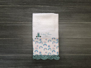 After the Rain... Crochet Kitchen Bar Mop Towel - The Vintage Home Studio
