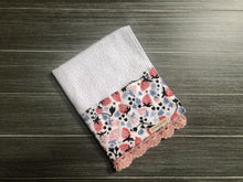 Load image into Gallery viewer, Strawberry Harvest Crochet Kitchen Bar Mop Towel