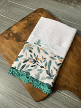 Load image into Gallery viewer, Seeded Eucalyptus Crochet Kitchen Bar Mop Towel