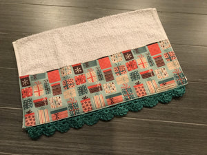 Tied in a Bow Crochet Kitchen Bar Mop Towel