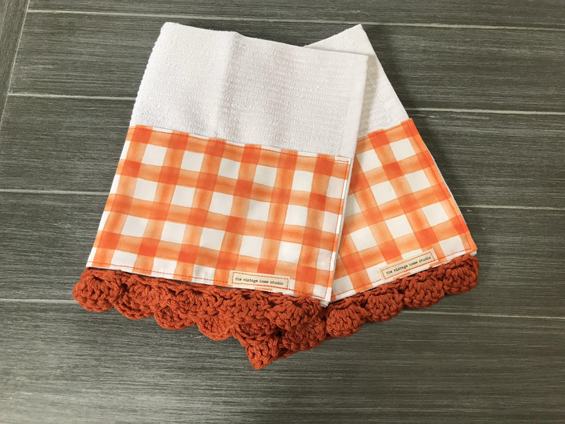 Texture Slots Soft Crochet Kitchen Bar Mop Towel