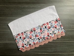 Strawberry Harvest Crochet Kitchen Bar Mop Towel