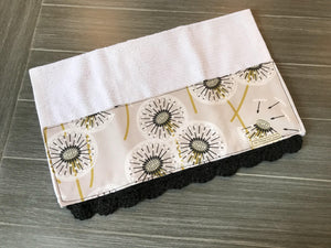 Dandelion Crochet Kitchen Bar Mop Towel - The Vintage Home Studio