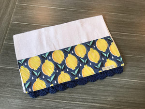 Lemon Fresh Crochet Kitchen Bar Mop Towel