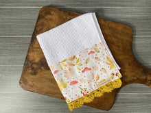 Load image into Gallery viewer, Fall in the Forest Crochet Kitchen Bar Mop Towel