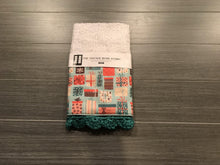 Load image into Gallery viewer, Tied in a Bow Crochet Kitchen Bar Mop Towel