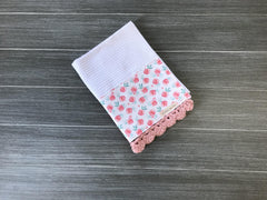 Petite Roses Crochet Kitchen Bar Mop Towel