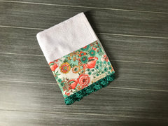 Flower Shower Subtle Crochet Kitchen Bar Mop Towel
