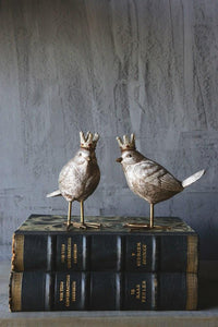 Royal Resin Birds - The Vintage Home Studio