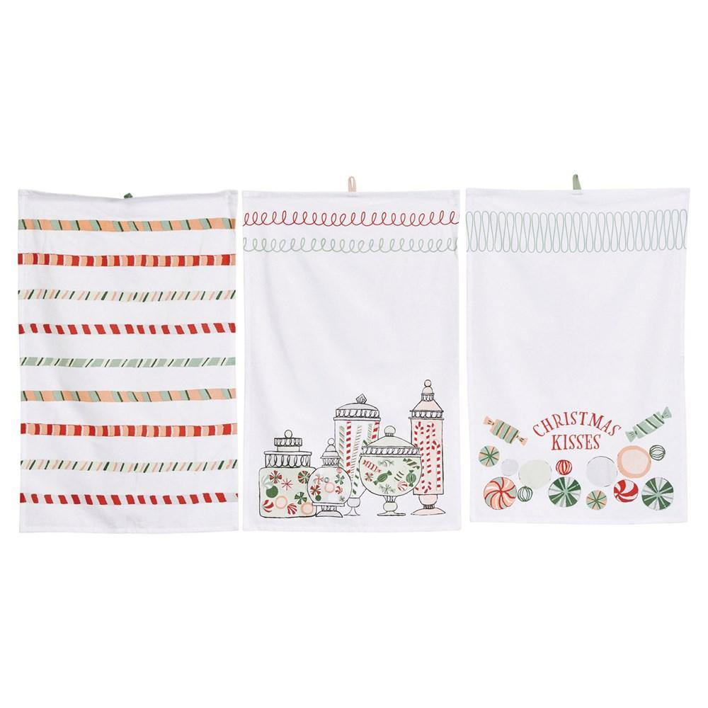 Christmas Candy Tea Towels