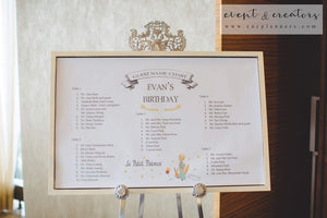 Little Prince Birthday Table 1St Party