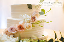 Load image into Gallery viewer, Pink Rose Cake Flower Flowers